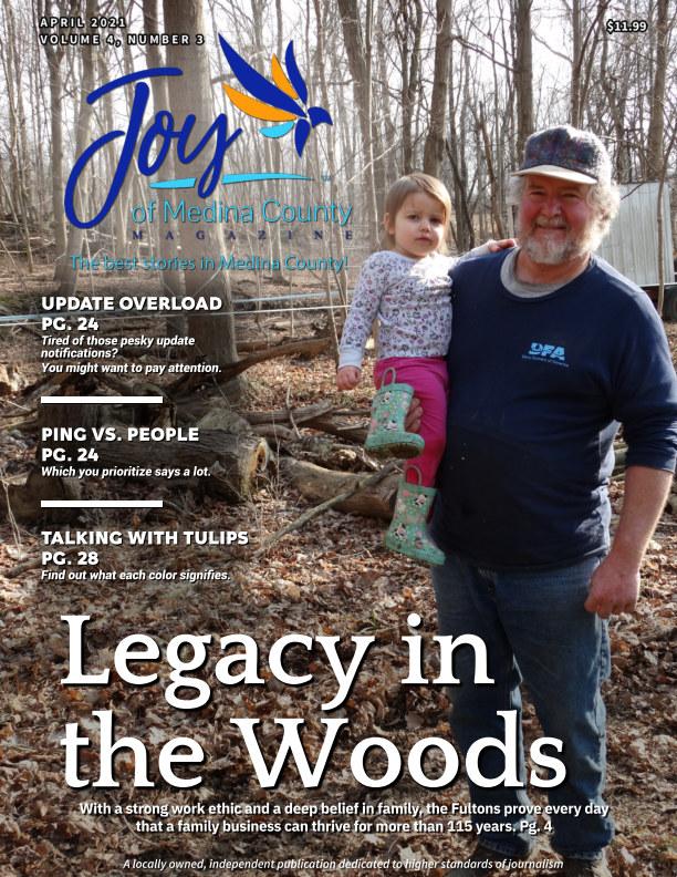 Ver Joy of Medina County Magazine April 2021 por Blake House Publishing, LLC
