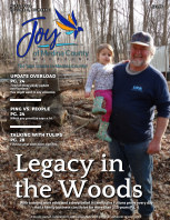 Joy of Medina County Magazine April 2021 book cover