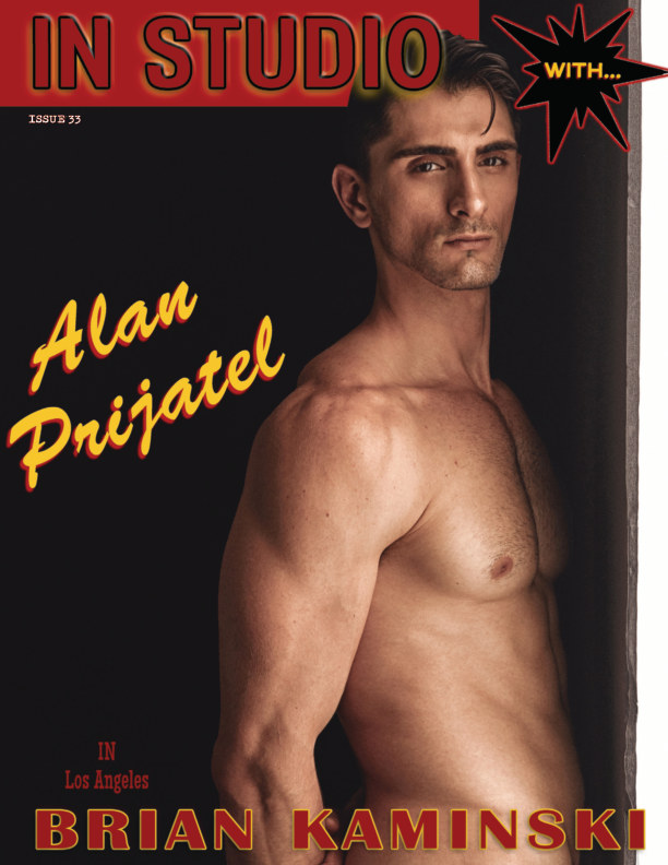 View Issue 33. Alan Prijatel - In Studio by Brian Kaminski by Brian Kaminski