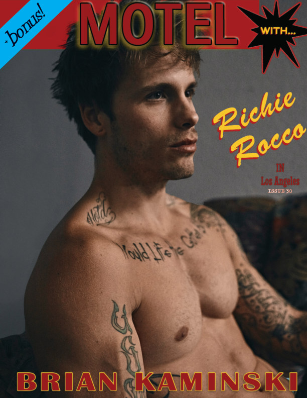 View Issue 30. Richie Rocco - Motel by Brian Kaminski by Brian Kaminski