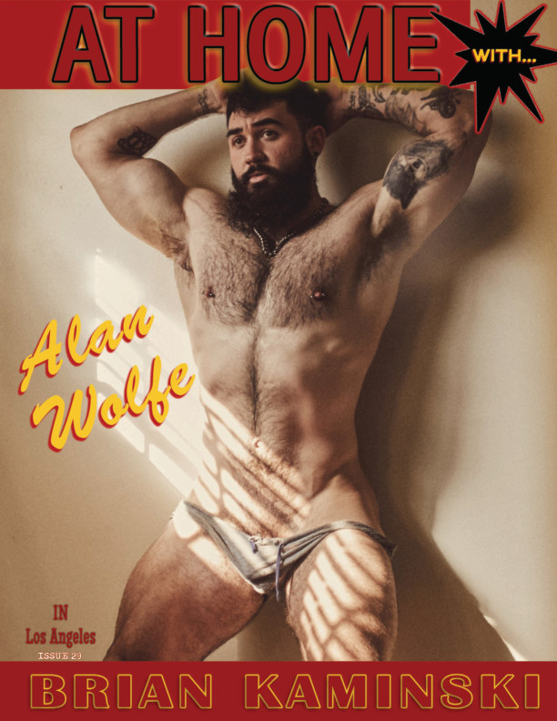 View Issue 29. Alan Wolfe - At Home by Brian Kaminski by Brian Kaminski