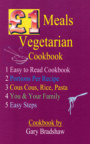 £1 Meals Vegetarian Cookbook book cover
