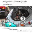 Vintage Volkswagen Challenge 2009 book cover
