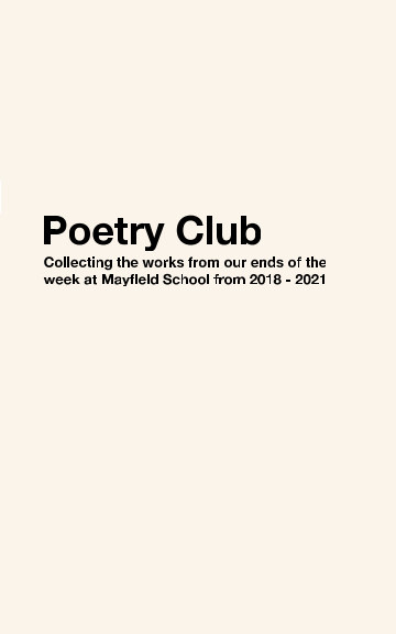 View Poetry Club by Tahmid Rahman