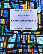 Art and Poetry - nested in these - Captured Moments (softcover) book cover
