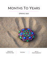 Months To Years Spring 2021 book cover