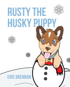 Rusty the Husky Puppy book cover