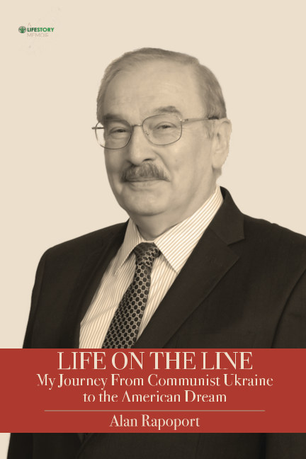 View Life On The Line--softcover by Alan Rapoport