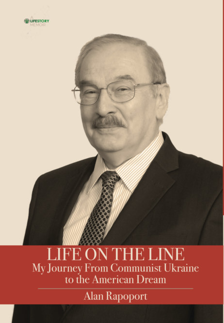 View Life On The Line--hardcover by Alan Rapoport