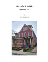 City Living in Buffalo: Norwood Ave. book cover