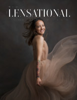 LENSATIONAL Model and Photographer Magazine #92 Issue | Smile - April 2021 book cover