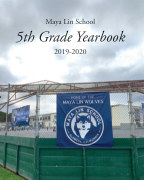 Maya Lin School 5th Grade Yearbook 2020 book cover