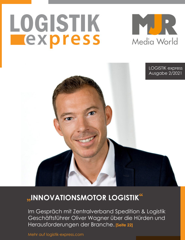 LOGISTIK express Journal 2/2021 nach MJR Media World anzeigen