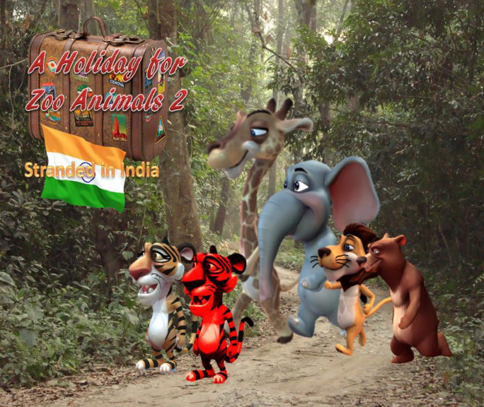 View A Holiday For Zoo Animals 2: Stranded In India by Sam Guy