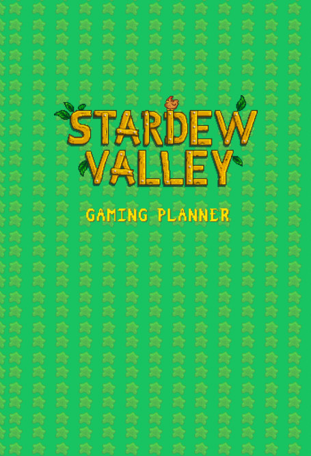 View Stardew Valley Gaming Planner and  Checklist by YellowRoom Studios