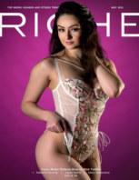Riche Magazine May 2021 book cover