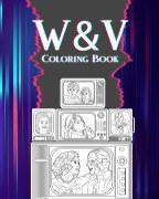 WandaVision Coloring Book book cover