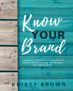 Know Your Brand book cover