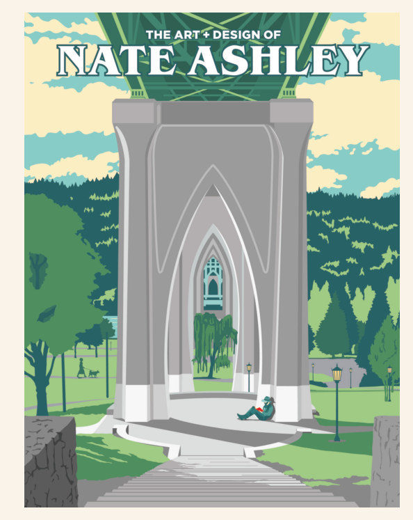 View The Art + Design of Nate Ashley (hardback) by Nate Ashley