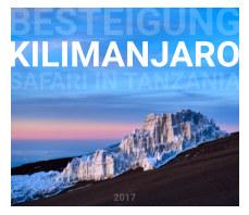 Besteigung Kilimanjaro book cover