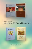 The Plays of Leonard D Goodisman - Vol. 1 (soft cover) book cover