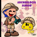 Zuby Tales - Archeologia Junior book cover