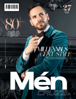 MAY 2021 Issue (Vol: 27)   MEN CRUZE Magazine book cover