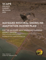 Hayward Shoreline Adaptation Master Plan - Completed book cover