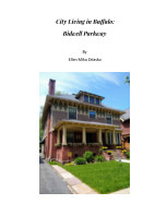 City Living in Buffalo: Bidwell Parkway book cover