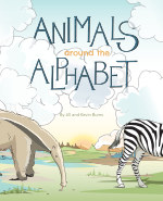 Animals Around the Alphabet book cover