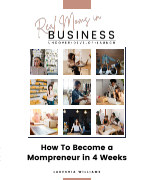 How To Become a Mompreneur in 4 Weeks book cover