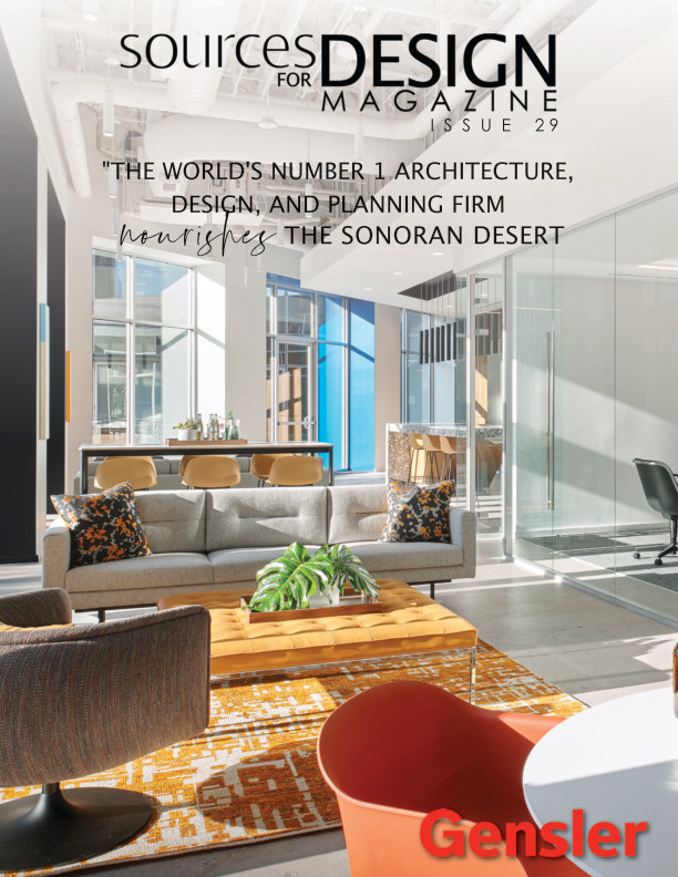 View Sources for Design Issue 29: Gensler by Lawrence Lake Media
