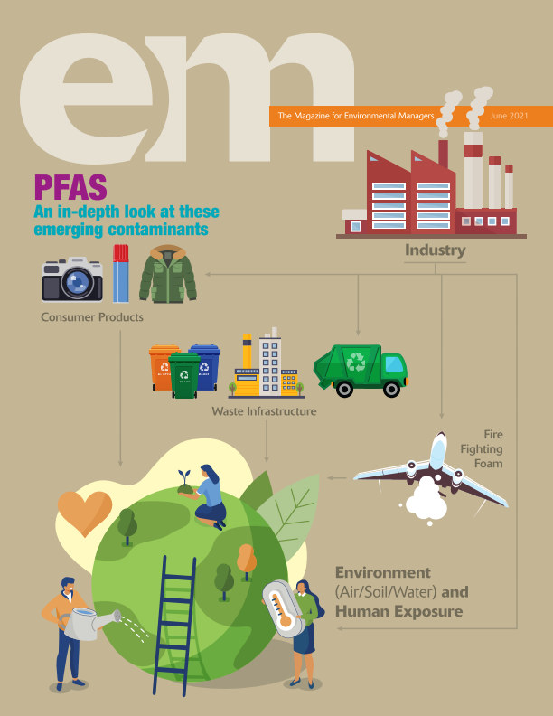 View EM June 2021 by Air and Waste Management Assoc