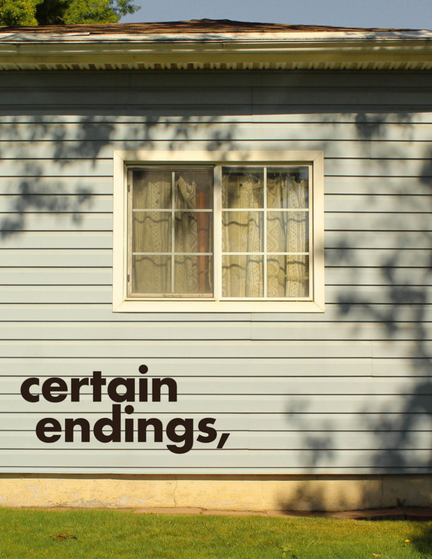 View certain endings by anna beers