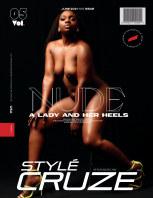 JUNE 2021 NUDE Issue (Vol: 05)   STYLÉCRUZE Magazine book cover