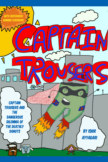 Captain Trousers And The Dangerous Dilemma Of The Deathly Donuts book cover