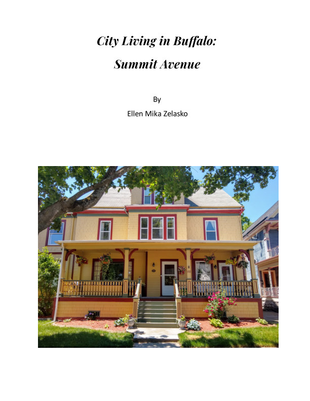 View City Living in Buffalo: Summit Avenue by Ellen Mika Zelasko