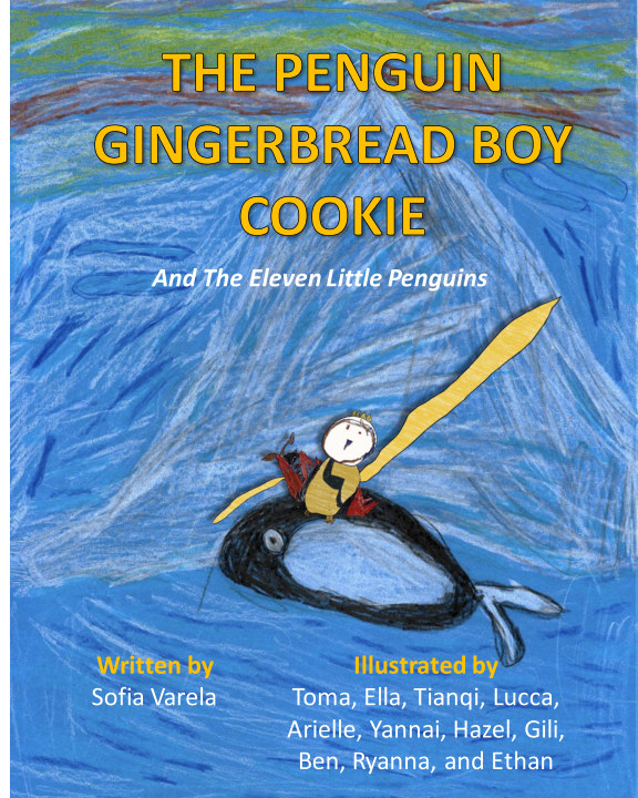 View The Penguin Gingerbread Boy Cookie And The Eleven Little Penguins by Sofia Varela