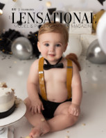 LENSATIONAL Model and Photographer Magazine #100 Issue | Celebration - June 2021 book cover