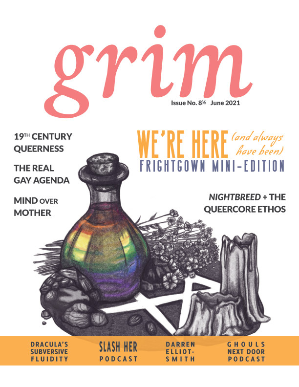View Grim No. 8 1/2: We're Here (And Always Have Been) by Anatomy of a Scream