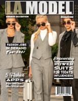 LA Model Magazine Summer 2021 Edition book cover