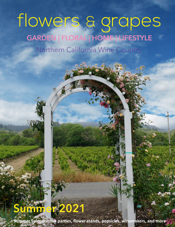View Flowers and Grapes Summer 2021 Issue 2 by Flowers and  Grapes