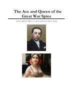 The Ace and Queen of the Great War Spies book cover