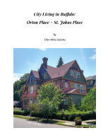 City Living in Buffalo: Orton Place + St. Johns Place book cover