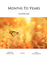 Months To Years Summer 2021 book cover
