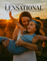 LENSATIONAL Model and Photographer Magazine #102 Issue | Mummy and Me, Daddy and Me - July 2021 book cover