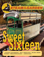 Steam in the Garden Sep/Oct 2021 book cover