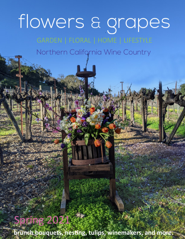 Ver Flowers and Grapes Spring Issue 1 por Flowers and Grapes