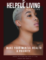 Helpful Living Magazine Issue VII: Make Your Mental Health A Priority book cover