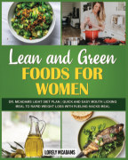 Lean and Green Foods for Women - Dr. McAdams Light Diet Plan book cover